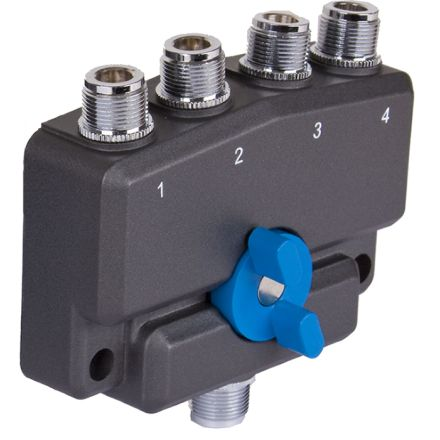 Watson CX-SW4N - 4 Way N-Type Coax Switch