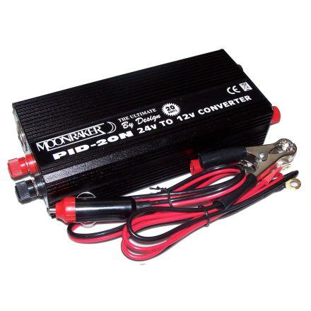 B-GRADE PID-20N 24-12V 20 AMP Single Socket Reducer
