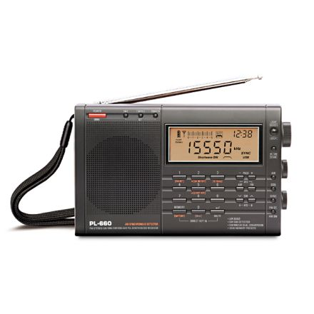 Tecsun PL-660 Shortwave Receiver + VHF Airband