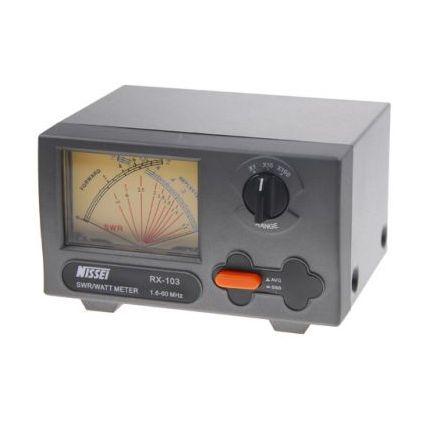 Nissei RX-203 - SWR+PWR Cross Needle Meter