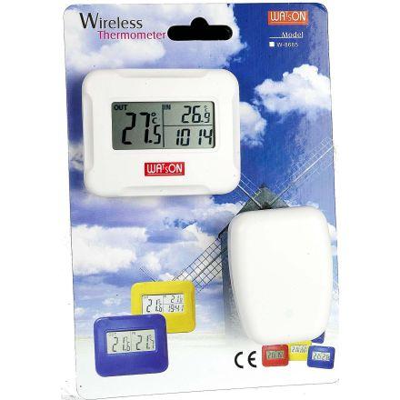 Watson W-8685 - Clock And Temp Display