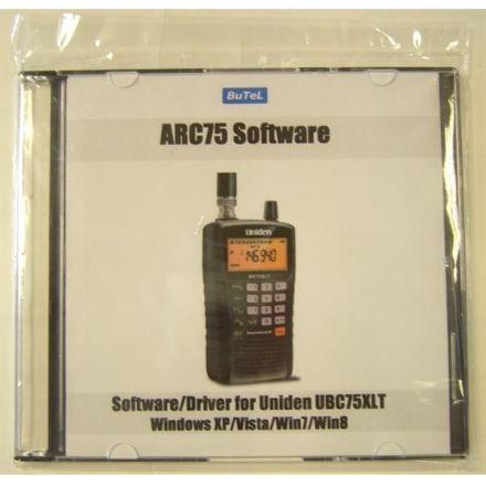 ARC75 SOFTWARE FOR UNIDEN UBC75XLT SCANNER