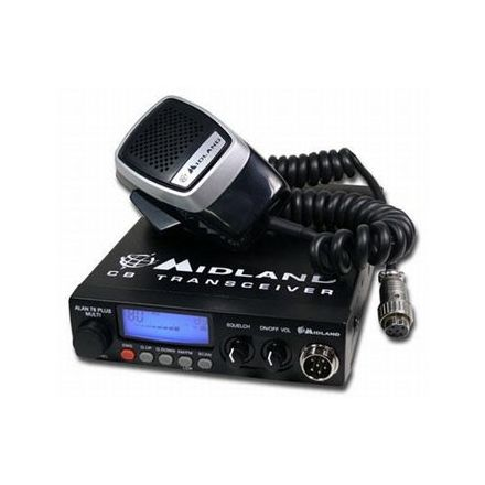 Midland 78 PRO Multi Channel with AM/FM,12V CB Radio