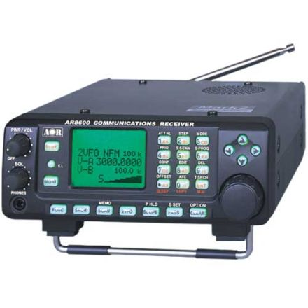 SOLD! USED AOR AR-8600MKII Desktop Communications Receiver