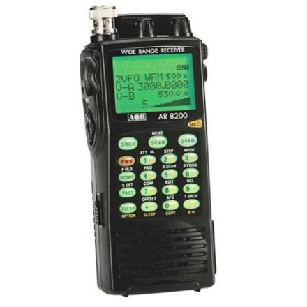 DISCONTINUED AOR AR-8200D Scanner 530kHz-3GHz 1000 mem SSB/FM/AM/CW/APCO25