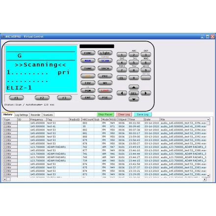 Butel ARC500 Basic Scanner Software For Whistler WS1040 and WS1065