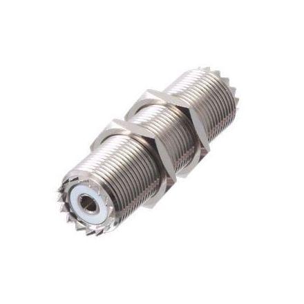 """SO239 Double Female Bulkhead Connector (2"""") (PREMIUM)"""