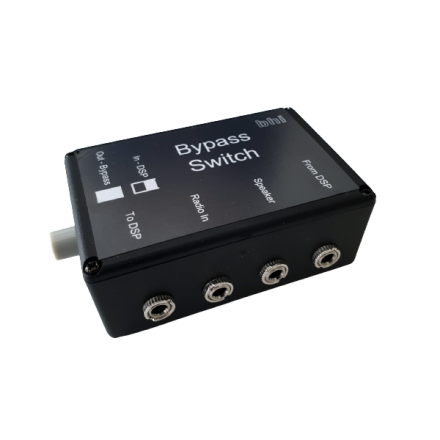 BHI Bypass Switch - Audio Bypass Switch for BHI Dual In-line and Compact in-Line
