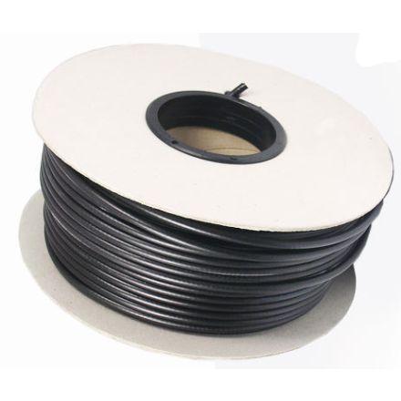 MINI8 (50 OHM) Coax Cable (in black) - 100m Drum