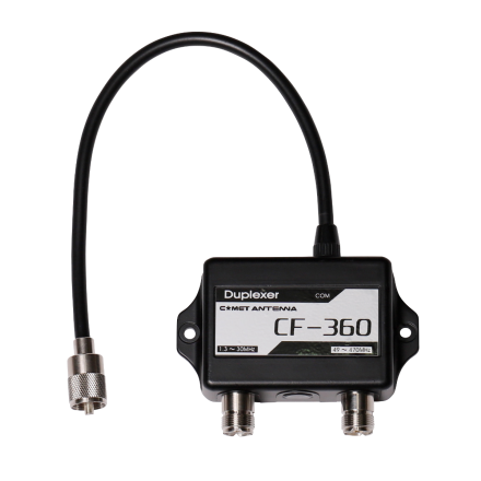 COMET CF-360B - Duplexer for 1.3-30/49-470MHz W/MP-MJ/MJ