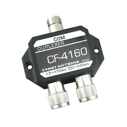 COMET CF-4160A - Duplexer for 1.3-170/350-540MHz W/MJ-MP/MP
