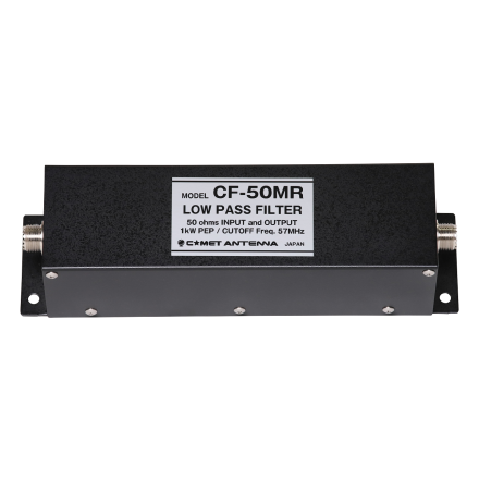 COMET CF-50MR - Low-pass Filter for 57MHz 1kw/CW