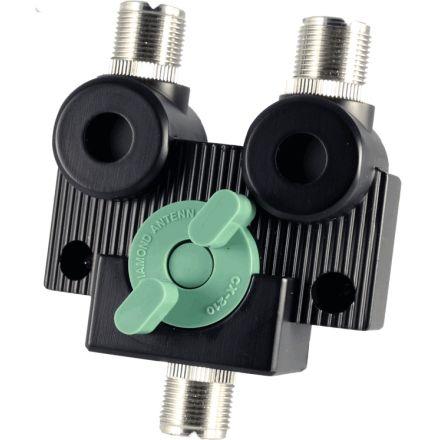 Diamond CX-210A - 2-Way Coax Switch (SO239)