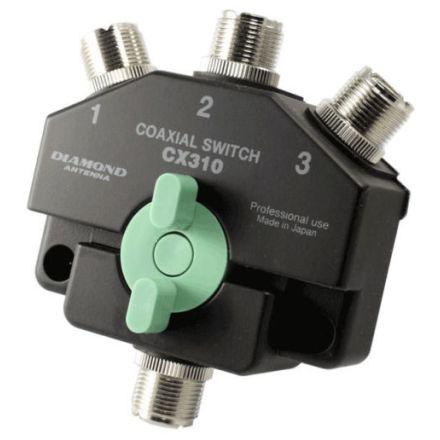 Diamond CX-310A - 3 Way Coax Switch (SO239)
