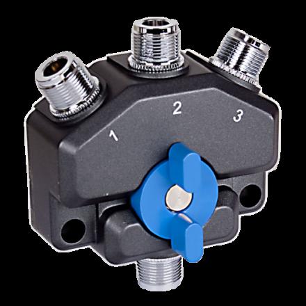 Watson CX-SW3N - 3 Way N-Type Coax Switch