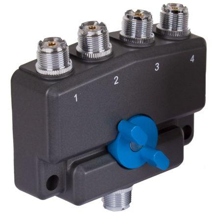 Watson CX-SW4PL - 4 Way SO239 Coax Switch
