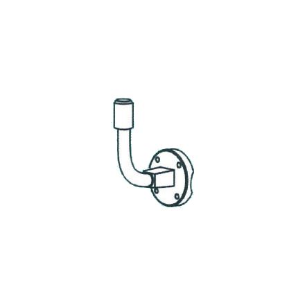 DTV-1000 Replacement Pole Mount With U-Bolts