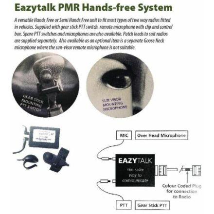 EAZYTALK PMR HANDSFREE MIC SYSTEM