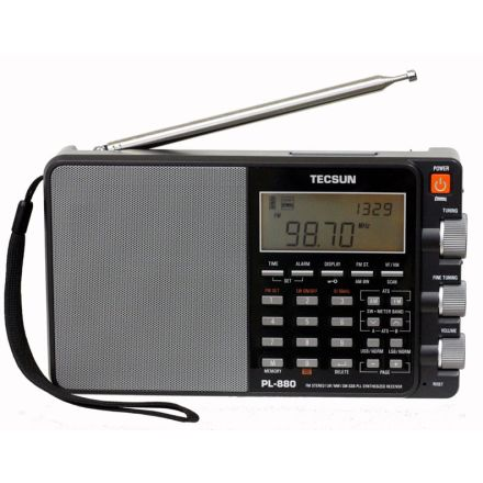 Tecsun PL-880 Portable World Band Radio