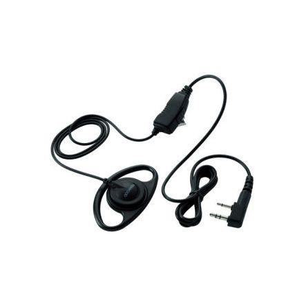 Kenwood EMC-12 - Clip Microphone with Ear Piece & PTT