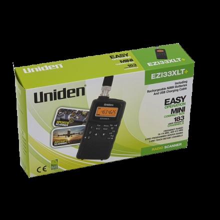 SOLD! B Grade Uniden Bearcat EZI-33XLT PLUS Handheld Scanner