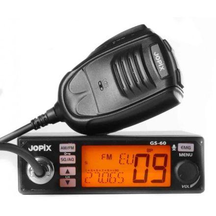 JOPIX GS60 CB mobile transceiver 12/24v