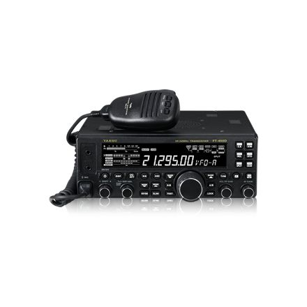 Used Yaesu FT-450D Base Transceiver Boxed