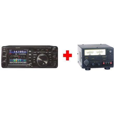 Yaesu FT-991A Bundle AM FM USB LSB CW and C4FM Field Gear Transceiver (With free SM-30 PSU)