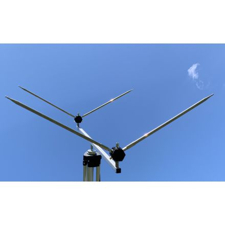 "DISCONTINUED Alpha Antenna HEXTENNAâ""¢ Yagi UHF/VHF/HF"