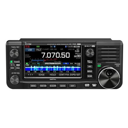Icom IC-705 All mode portable radio (With free SPX-100 antenna)~