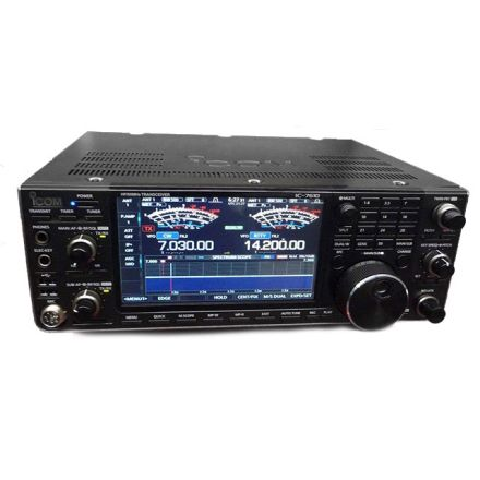 Icom IC-7610 HF/50MHz SDR Transceiver (With free SM-30 PSU and GPA80F HF antenna)~