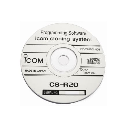 DISCONTINUED Icom CS-R20 Cloning Software (USB cloning cable supplied)