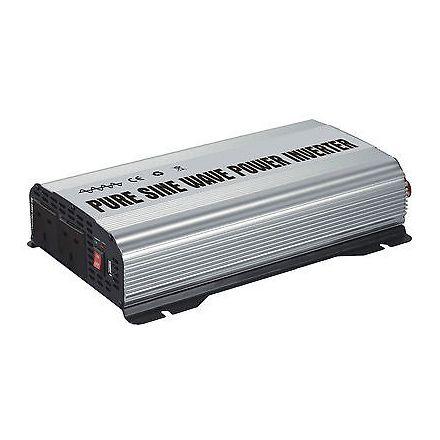 INV-81200PSW - (1200W) (2400W Peak) 12V Pure Sine Wave Power Inverter