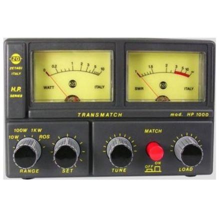 ZETAGI HP1000 TRANSMATCH SWR/POWER/MATCHER