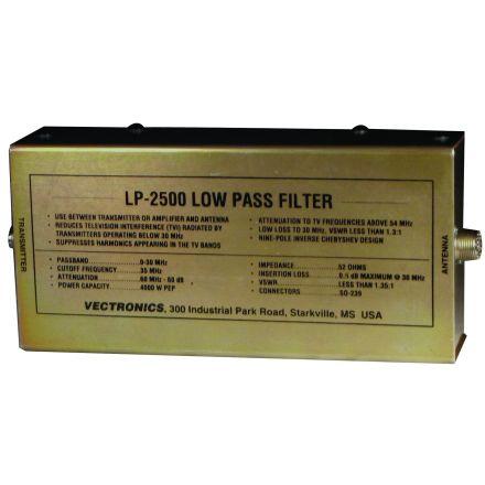 Vectronics LP-2500 - 2500W Low Pass Filter