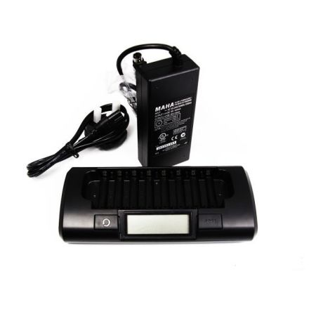 Maha MH-C801D - Fast Smart 8 Bank Charger for AA/AAA Batteries