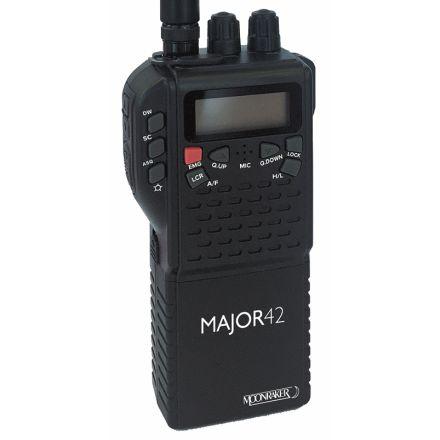 DISCONTINUED Moonraker Major 42 Multi Channel Handheld CB Radio