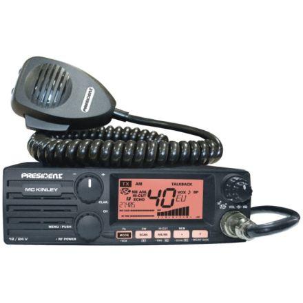 President McKinley  AM-FM-SSB CB Radio Transceiver