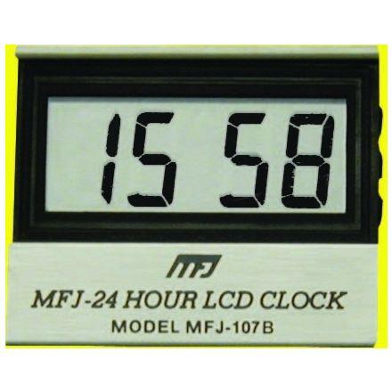 MFJ-107B* - LCD 24 Single Clock