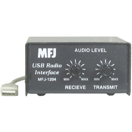 MFJ-1204P4 - For 4-Pin Round Mic Connector