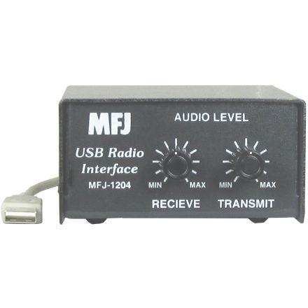 MFJ-1204MD6 - For 6-Pin mini DIN Data / Acc Port Cmtr