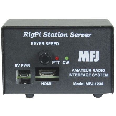 MFJ-1234 Rig Pi Remote Station Server
