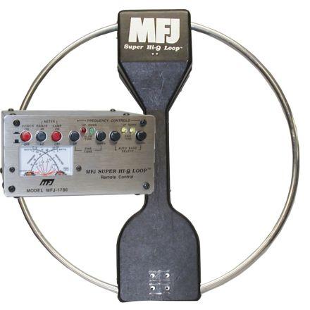 MFJ-1786X - 10-30 Mhz Hi-Q Loop/Deluxe-220V