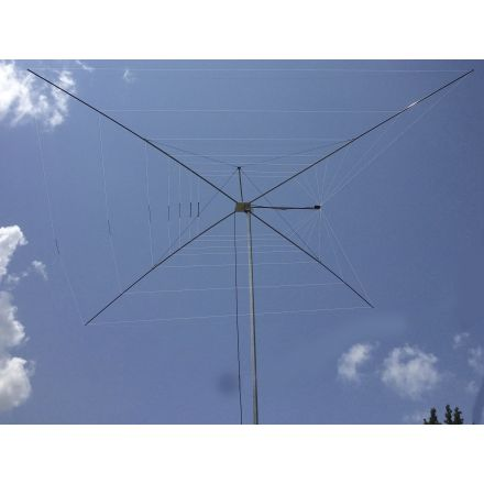 MFJ-1838 - Cobweb 8 bds Antenna,40-6M, 1500W