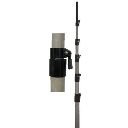 MFJ-1904H - 22ft,Tele F.glass MastsW/QckClamps