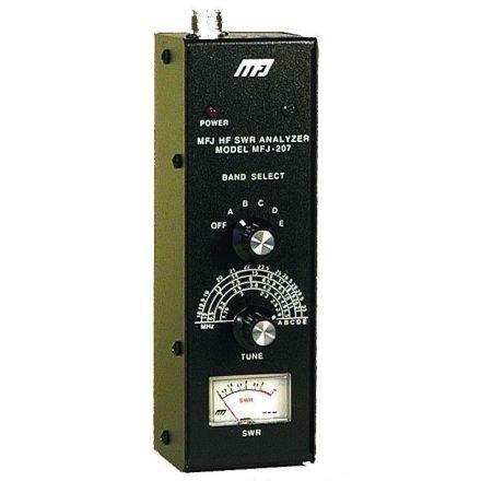 DISCONTINUED MFJ-207 - 160-10M, HF SWR Analyzer
