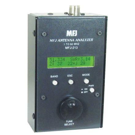 MFJ-213 - 1.8-60 Mhz Antenna Analyzer