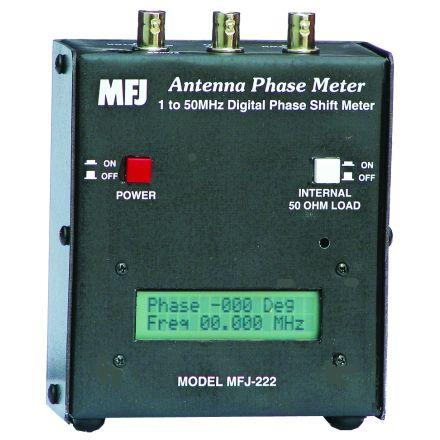 MFJ-222 - Precision Ant. Phase Mtr,1-500Mhz