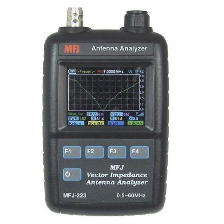 MFJ-223 - Colour GraphicVNA Ant  Analyzer, 1-60 Mhz