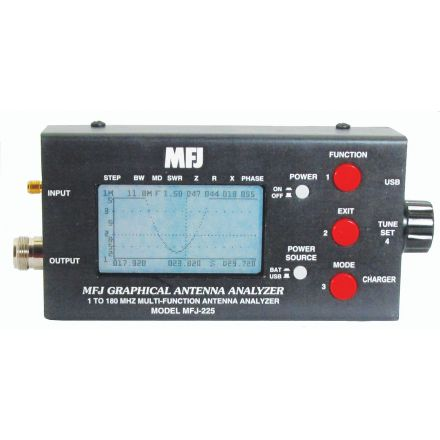 MFJ-225 - 1.8-170 MHz Graphic Ant. Analyzer